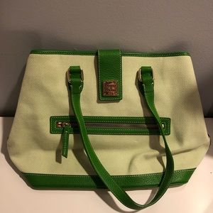 Dooney and Burke Green Purse